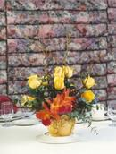 Centerpiece in yellow