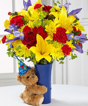 Big Hug Birthday Bouquet